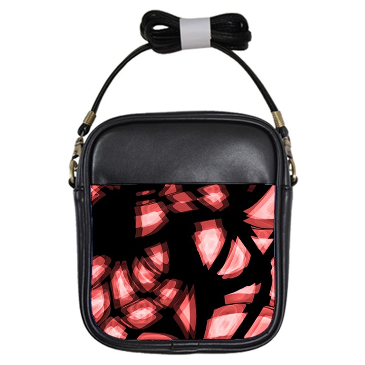 Red light Girls Sling Bags