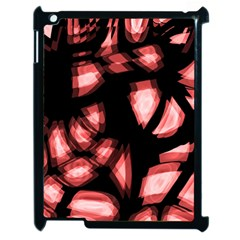 Red light Apple iPad 2 Case (Black)
