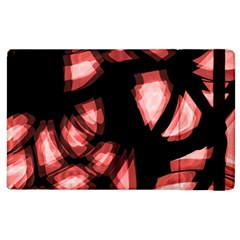 Red light Apple iPad 2 Flip Case