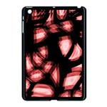 Red light Apple iPad Mini Case (Black) Front