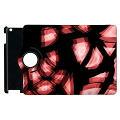 Red light Apple iPad 2 Flip 360 Case