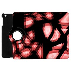 Red light Apple iPad Mini Flip 360 Case