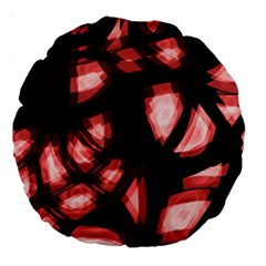 Red light Large 18  Premium Round Cushions