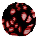 Red light Large 18  Premium Round Cushions Front