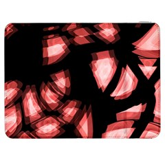 Red light Samsung Galaxy Tab 7  P1000 Flip Case