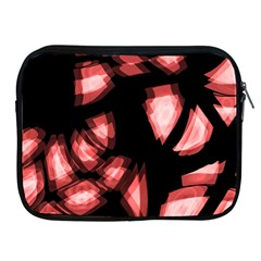 Red light Apple iPad 2/3/4 Zipper Cases