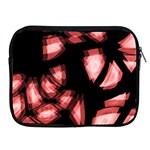 Red light Apple iPad 2/3/4 Zipper Cases Front