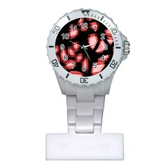 Red light Plastic Nurses Watch