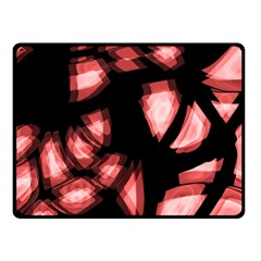 Red light Double Sided Fleece Blanket (Small)