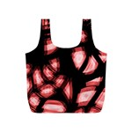 Red light Full Print Recycle Bags (S)  Front