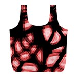 Red light Full Print Recycle Bags (L)  Front