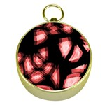 Red light Gold Compasses Front