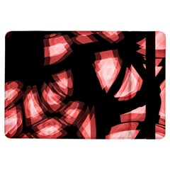Red light iPad Air Flip