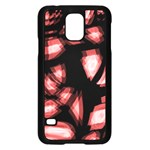 Red light Samsung Galaxy S5 Case (Black) Front