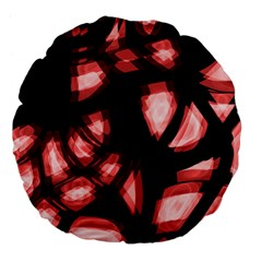 Red light Large 18  Premium Flano Round Cushions