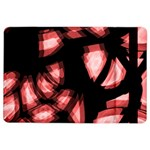 Red light iPad Air 2 Flip