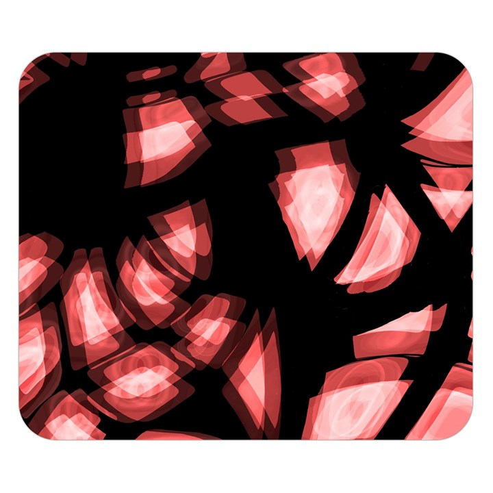 Red light Double Sided Flano Blanket (Small)