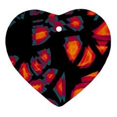 Hot, Hot, Hot Ornament (heart)