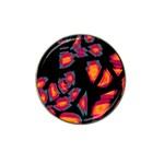 Hot, hot, hot Hat Clip Ball Marker Front