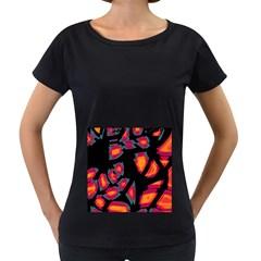 Hot, Hot, Hot Women s Loose Fit T Shirt (black)