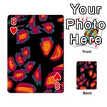 Hot, hot, hot Playing Cards 54 Designs  Front - Heart8