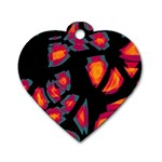 Hot, hot, hot Dog Tag Heart (Two Sides) Front