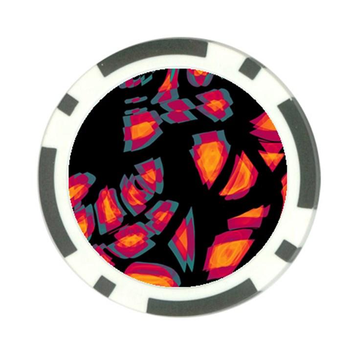 Hot, hot, hot Poker Chip Card Guards