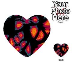 Hot, Hot, Hot Multi Purpose Cards (heart)  by Valentinaart