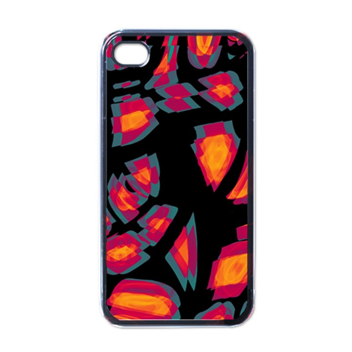 Hot, hot, hot Apple iPhone 4 Case (Black)