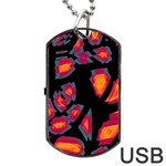 Hot, hot, hot Dog Tag USB Flash (Two Sides)  Front