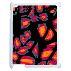 Hot, Hot, Hot Apple Ipad 2 Case (white)