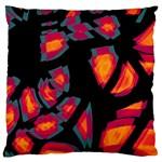 Hot, hot, hot Large Cushion Case (Two Sides) Back