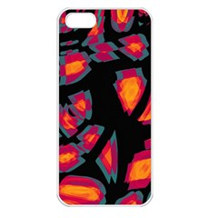 Hot, Hot, Hot Apple Iphone 5 Seamless Case (white) by Valentinaart