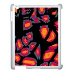 Hot, hot, hot Apple iPad 3/4 Case (White) Front