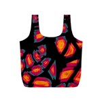 Hot, hot, hot Full Print Recycle Bags (S)  Front