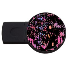 Put Some Colors    Usb Flash Drive Round (2 Gb)  by Valentinaart