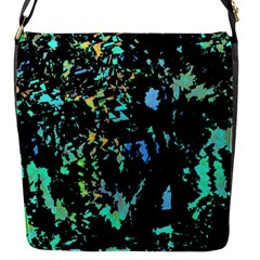 Colorful Magic Flap Messenger Bag (s) by Valentinaart