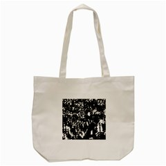 Black And White Miracle Tote Bag (cream) by Valentinaart