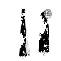 Black And White Miracle Neckties (two Side)  by Valentinaart