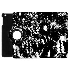 Black And White Miracle Apple Ipad Mini Flip 360 Case by Valentinaart