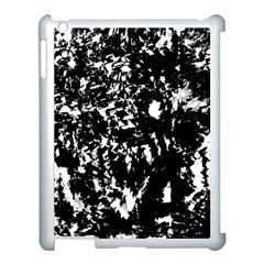 Black And White Miracle Apple Ipad 3/4 Case (white) by Valentinaart