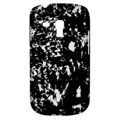 Black And White Miracle Samsung Galaxy S3 Mini I8190 Hardshell Case by Valentinaart