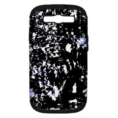 Little bit of blue Samsung Galaxy S III Hardshell Case (PC+Silicone) by Valentinaart