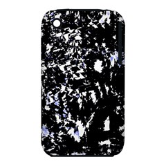 Little Bit Of Blue Apple Iphone 3g/3gs Hardshell Case (pc+silicone) by Valentinaart