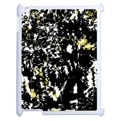 Little Bit Of Yellow Apple Ipad 2 Case (white)