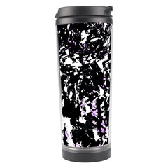 Little Bit Of Purple Travel Tumbler by Valentinaart