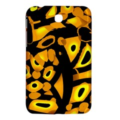 Yellow Design Samsung Galaxy Tab 3 (7 ) P3200 Hardshell Case  by Valentinaart