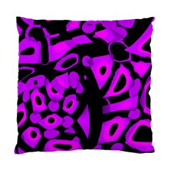 Purple Design Standard Cushion Case (two Sides) by Valentinaart
