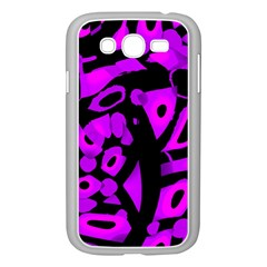 Purple Design Samsung Galaxy Grand Duos I9082 Case (white)