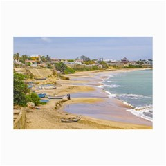 Ballenita Beach Santa Elena Ecuador Collage Prints by dflcprints